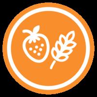 Vybrané ovocie a cereálie