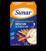 Krupicová škoricová mliečna kaša nadobrú noc
