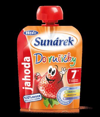 Sunárek Doručičky jahoda