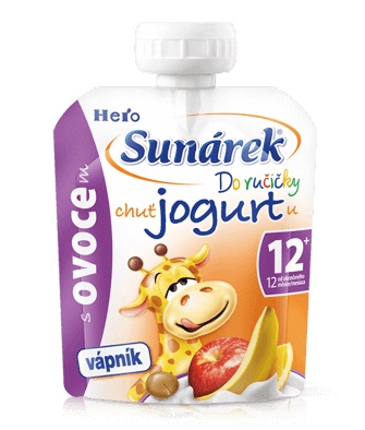 Sunárek Doručičky ovocie schuťou jogurtu