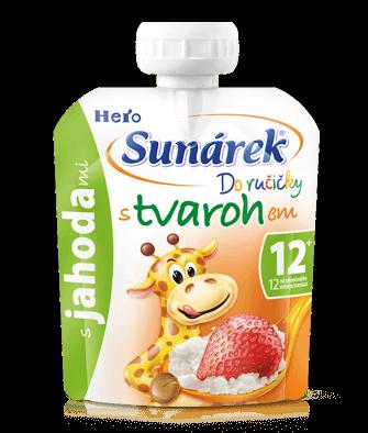 Sunárek stvarohom alebo jogurtom