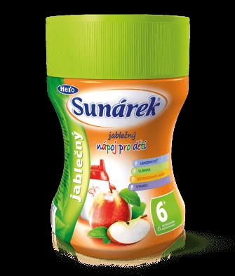 Rozpustný nápoj pre deti jablčný