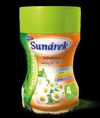 Rozpustný nápoj pre deti harmančekový