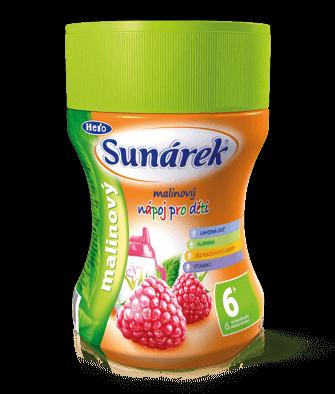Rozpustný nápoj pre deti malinový
