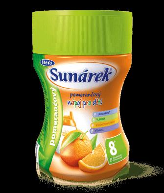 Rozpustný nápoj pre deti pomarančový