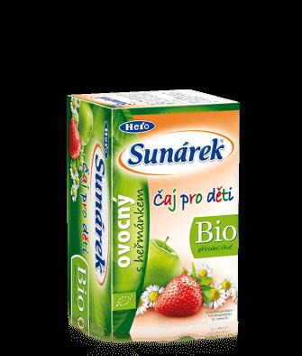 Sunárek BIO čaj ovocný sharmančekom