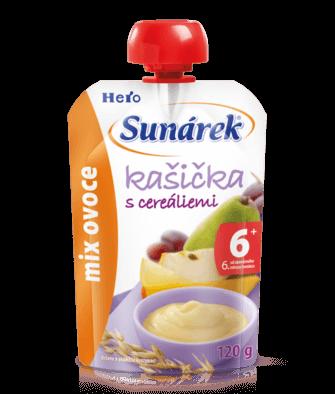 Kašička s cereáliami mix ovocia