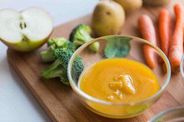 Prvé zeleninové príkrmy pre dojčatá