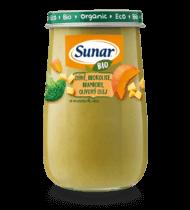 BIO tekvica, brokolica, zemiaky, olivový olej